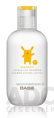 BABÉ DIEŤA Šampón na mliečne chrasty (Pediatric Milk crust shampoo, pH5) 1x200 ml