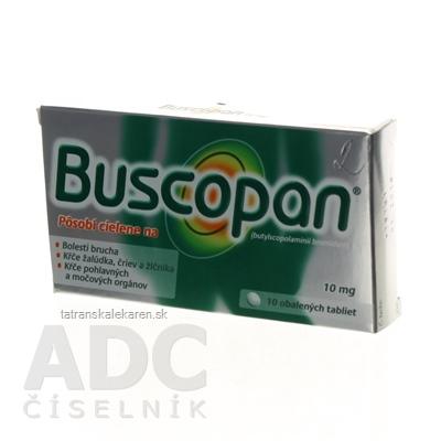 Buscopan tbl obd 10 mg (blis.) 1x10 ks