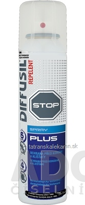 DIFFUSIL REPELENT PLUS SPRAY 1x100 ml