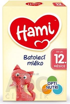 Hami batoľacie mlieko (od ukonč. 12. mesiaca) batoľacia mliečna výživa v prášku 1x600 g