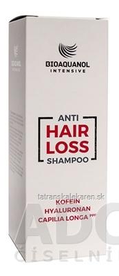 BIOAQUANOL INTENSIVE Anti HAIR LOSS Šampón s obsahom kofeínu 1x250 ml