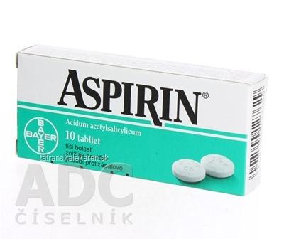 Aspirin 500 mg tbl 500 mg 1x10 ks