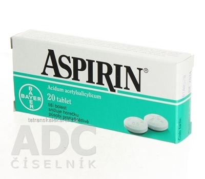 Aspirin 500 mg tbl 500 mg (blis.) 1x20 ks