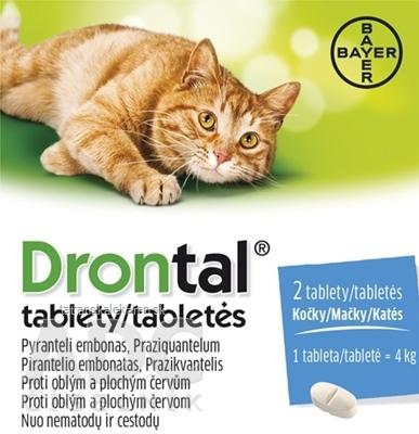 Drontal tablety (pre mačky) tbl 2 ks