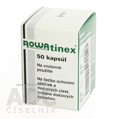 ROWATINEX cps mol (liek.plast.) 1x50 ks