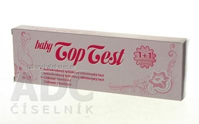 Baby Top Test tehotenský - tyčinka 1x2 ks