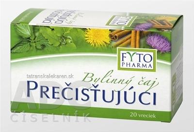 FYTO Bylinný čaj PREČISŤUJÚCI 20x1,5 g (30 g)