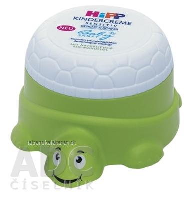 HiPP BabySANFT Detský krém sensitiv, tvár a telo, korytnačka 1x100 ml