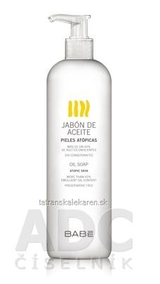 BABÉ TELO OMEGA SPRCHOVÝ GÉL olejový gél (Oil soap, atopic skin) 1x500 ml