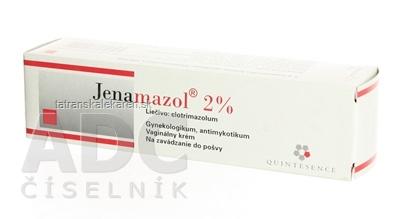 JENAMAZOL 2% crm vag (tuba Al+3x aplik.) 1x20 g
