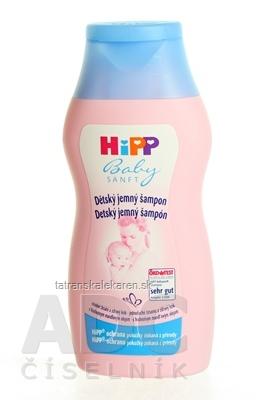 HiPP BabySANFT Jemný šampón 1x200 ml