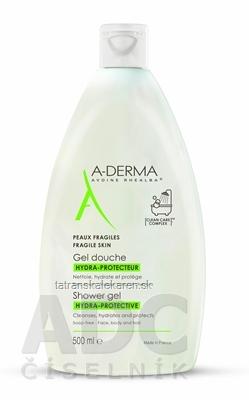 A-DERMA GEL DOUCHE HYDRA-PROTECTEUR hydratačný sprchový gél bez mydla 1x500 ml