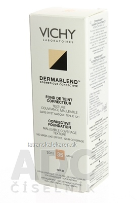 VICHY DERMABLEND 35 KOR.MAKE-UP (M5541601) fluidný 1x30 ml