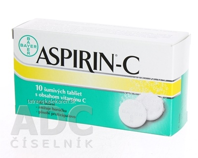 ASPIRIN-C tbl eff 1x10 ks