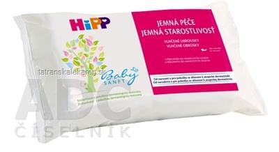 HiPP BabySANFT Čistiace vlhčené obrúsky sensitiv 1x56 ks