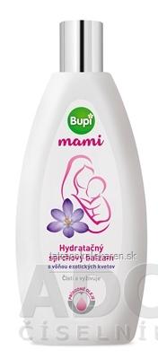 Bupi mami Hydratačný sprchový balzam s vôňou exotických kvetov, 1x250 ml