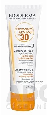 BIODERMA Photoderm AKN MAT SPF30 fluid 1x40 ml